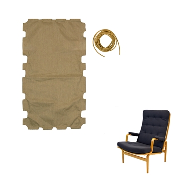 Canvas Fabric for DUX Ingrid chair with High back