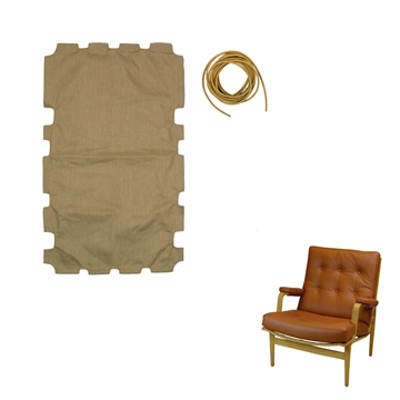 Canvas Fabric for DUX Ingrid chair with Low back
