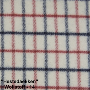 "Wool Fabric ""Hestedaekken"" color 14"