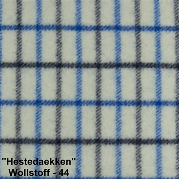 "Wool Fabric ""Hestedaekken"" color 44"