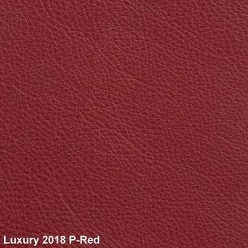 Luxury 2018 Leather P-Red
