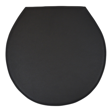 Black Standard seat cushion in Basic Select Leather for The Ant 3100/3101