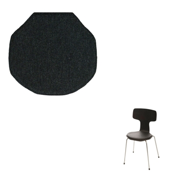 Lux Seat cushion in Hallingdal 65 fabric for the 3103 T Chair