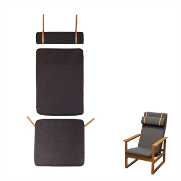 Cushion set in Basic select Leather for 2254 the Saddle chair High Back
