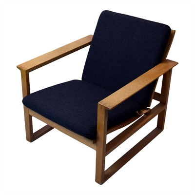 Cushion for sled 2256 chair by Børge Mogensen (Low Back)