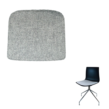 Lux Seat cushion in Hallingdal fabric for the Arper Catifa 53 chair