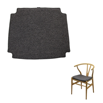Reversible Seat Cushion in Hallingdal Fabric for CH 24 wishbone chair
