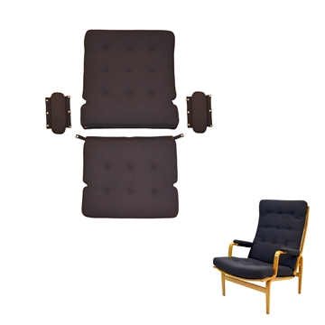 Cushion set for the DUX Ingrid high chair in Basic Select Leather