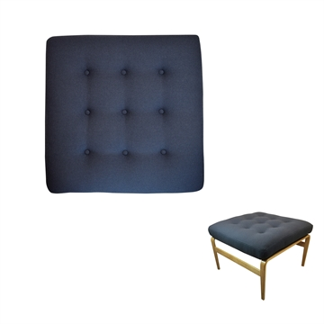 Cushion set for DUX Ingrid footstool in Basic Select Leather