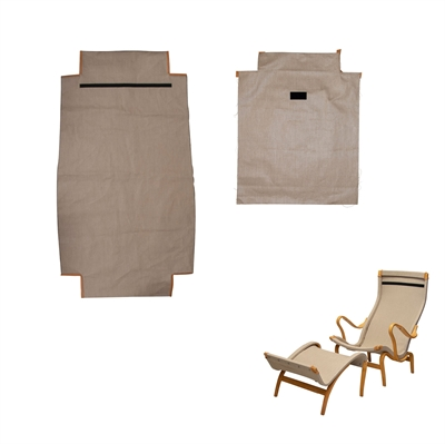 Canvas fabric and accessories for DUX Pernilla 69