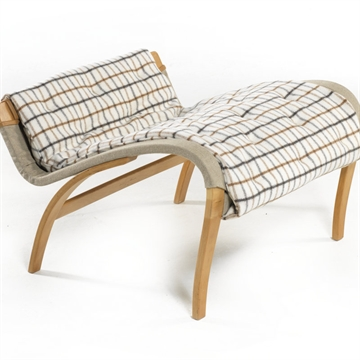 DUX Pernilla footstool cushion in Melrose