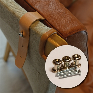 Screws and Brackets for the Pernilla chair Neck cushion