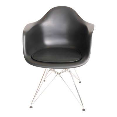 Seat LEATHER cushions for Eames Plastic Armchair