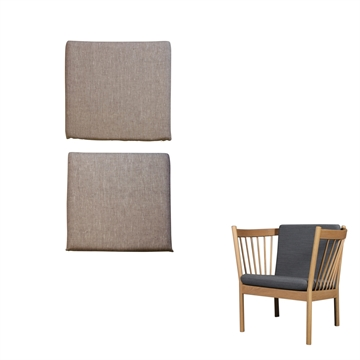 Cushion set for the J-146 chair in Basic Select Leather