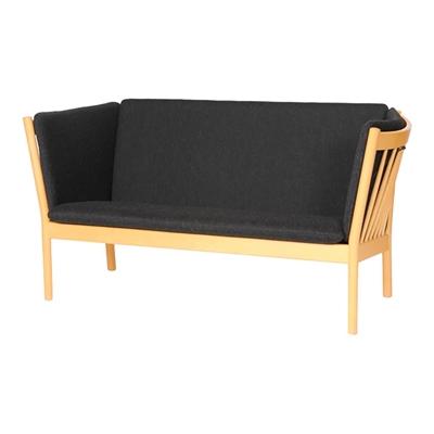J 148 Spoke Back Sofa Cushion Set In Basic Select Leather