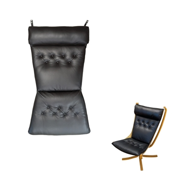 Cushion set in Basic Select Leather for the Falcon chair high back