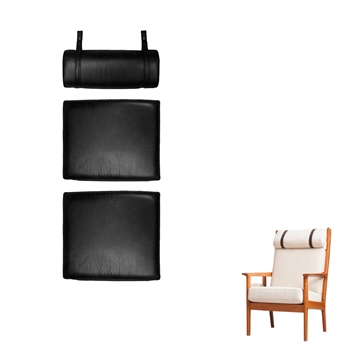 Cushion set in Basic Select Leather for the GE 265 A chair