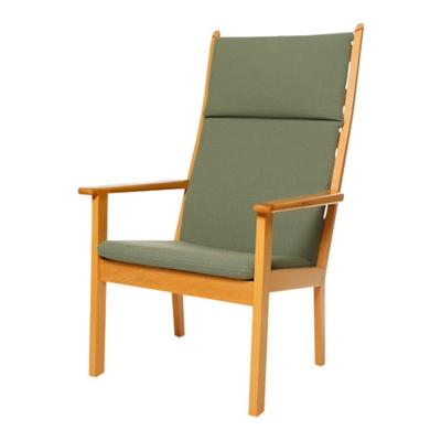 Cushions for the GE 284A chair by Hans J. Wegner (with high back)