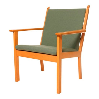 Cushions for the GE 284 chair by Hans J. Wegner