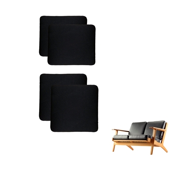 Cushions for the GE 290 2-seat sofa in Basic Select Leather