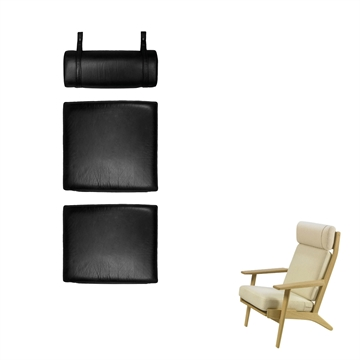 Cushion set in Basic Select Leather for the GE 290A chair