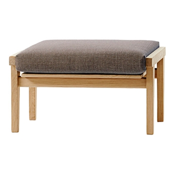 Cushion for the GE 375 S footstool in Hallingdal 65 Fabric