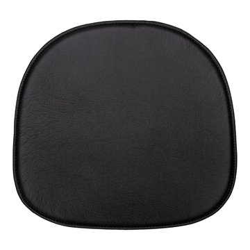Black Standard seat cushion for Gubi Beetle in Basic Select Leather