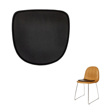 NON-reversible Luxury cushion in Basic Select Leather for The Gubi Chair