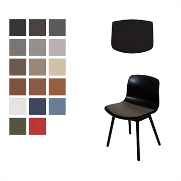Lux Seat cushion in Basic Select Leather for the AAC 12 Chair