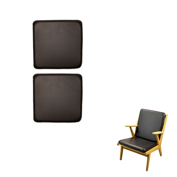 Cushion set in Basic select Leather for J 53 Chair