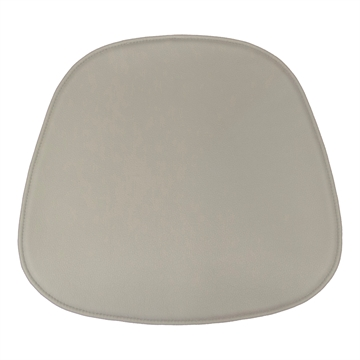 Not reversible Standsard Seat cushion in Basic Select Leather for the Langue chair