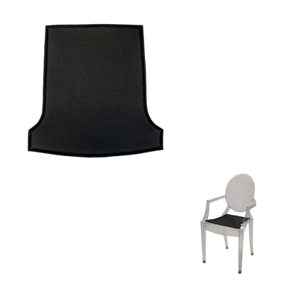 Cushion for Louis Ghost Chair By Philippe Starck