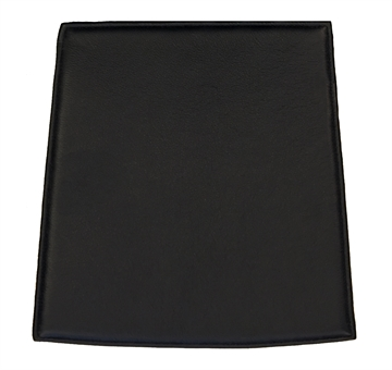 Black Standard Cushion in Basic Select Leather for Mikado Chair