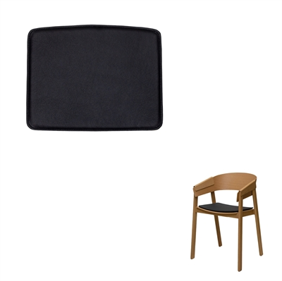 Seat cushions for Muuto Cover chair, by Thomas Bentzen