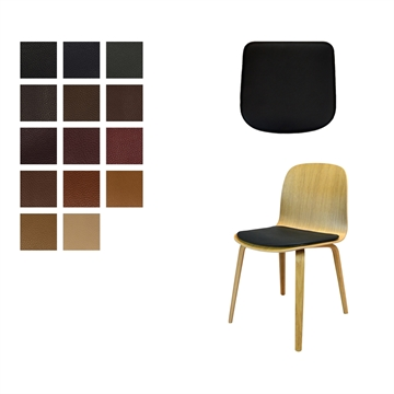 Lux Seat cushion in Elmo Baltique Leather for Muuto Viso chair
