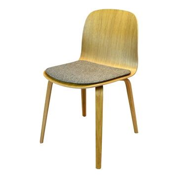 Lux Seat cushion in Hallingdal 65 stoff for Muuto Viso chair