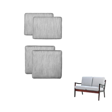 Cushions in Basic Select Leather for the Senator 2-seat sofa