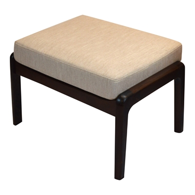 Cushion in LEATHER for Senator footstool