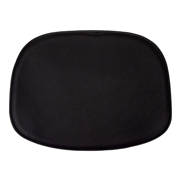 Standard seat cushion in Basic Select Leather for Ottawa Chair by Karim Rashid