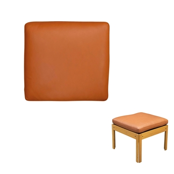 Cushion in Basic Select Leather for Plexus modul footstool