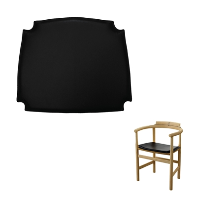 Seat cushions for the PP62 chair by Hans J. Wegner