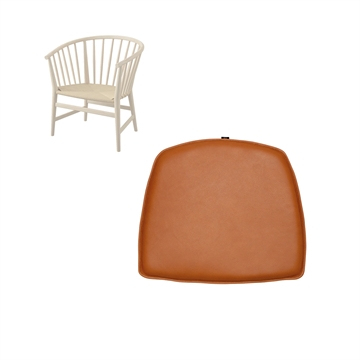 Cushion in Basic Select LEATHER for PP 112 by Hans J Wegner