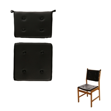 Cushion set in Basic Select Leather for Saxo Chair by Kurt Østervig