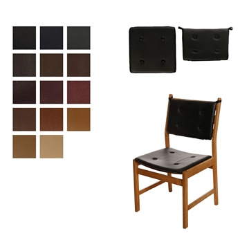 Cushion set in Elmo Baltique Leather for Saxo Chair by Kurt Østervig
