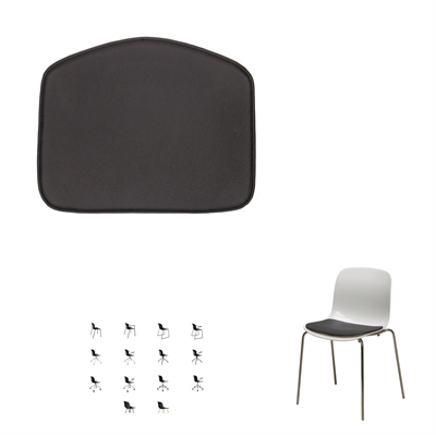 Cushions for Troy chair, by Marcel Wanders