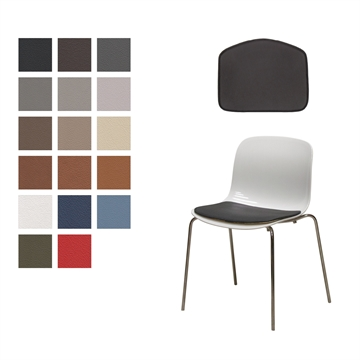 NON-reversible LUX cushion for Troy chair in Basic Select Leather