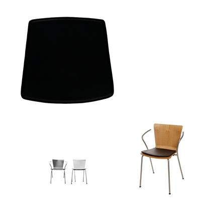 Cushions for Duo chair, by Vico Magistretti
