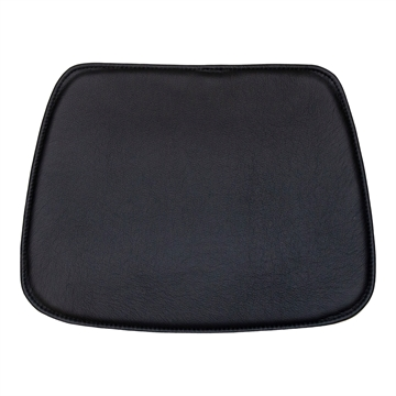 Non-reversible Standard seat cushion in Basis Select Leather for the Vitra Hal Tube chair