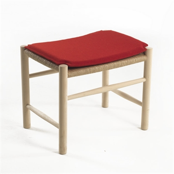 J16 footstool cushion  in Hallingdal Fabric