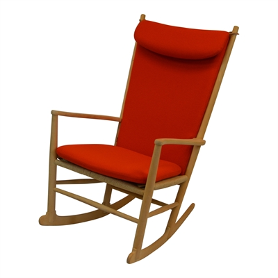 J16 rocking chair cushion designed by Hans J. Wegner